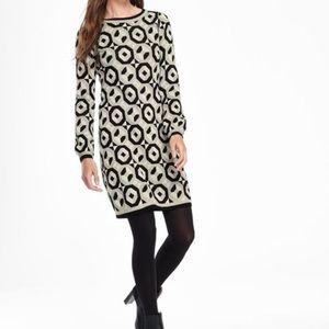 Boden Swinging sixties geometric tunic dress